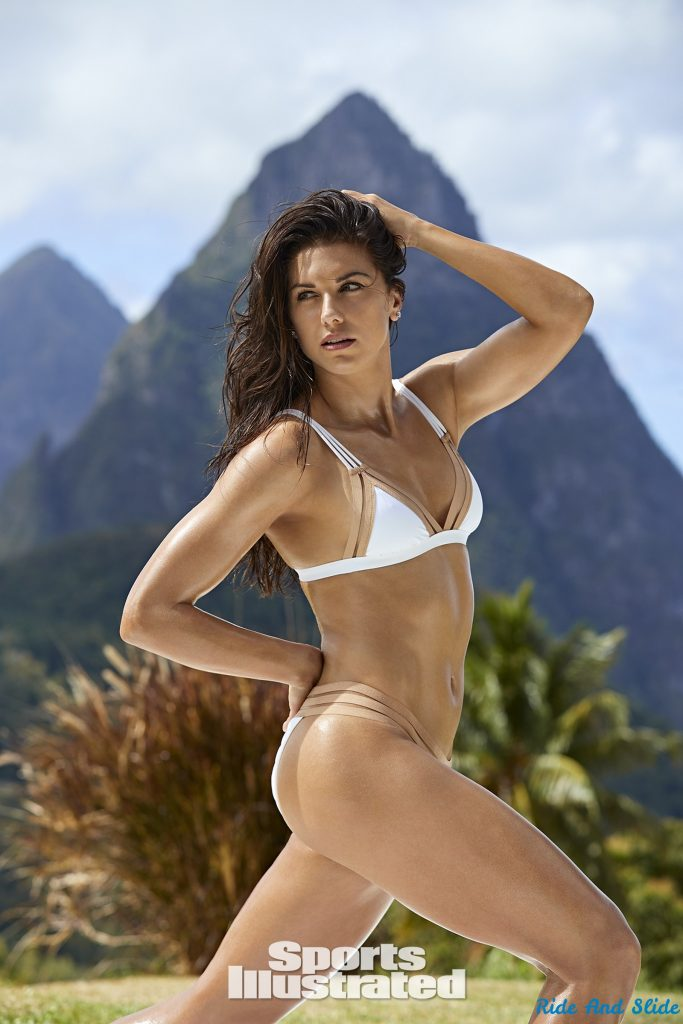 Alex Morgan sports illustrated swimsuit 2019 thong string bikini sexy ass nude nue
