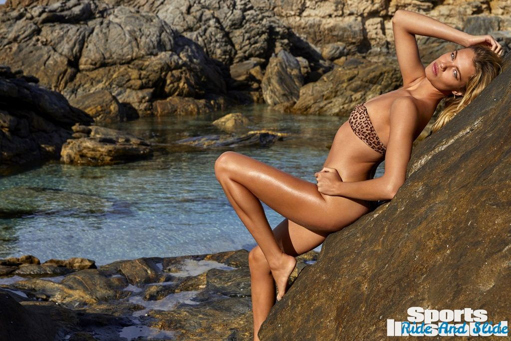 Hailey Clauson sports illustrated swimsuit 2019 thong string bikini sexy ass nude nue