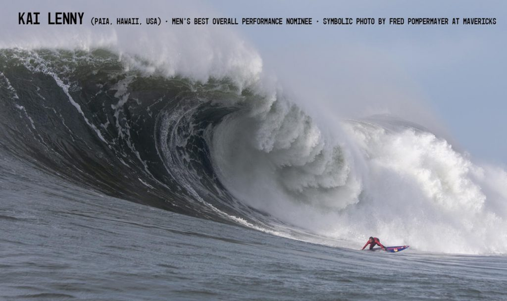 Kai Lenny - 2019 Men's Best Overall Performance Nominee WSL / Fred Pompermayer