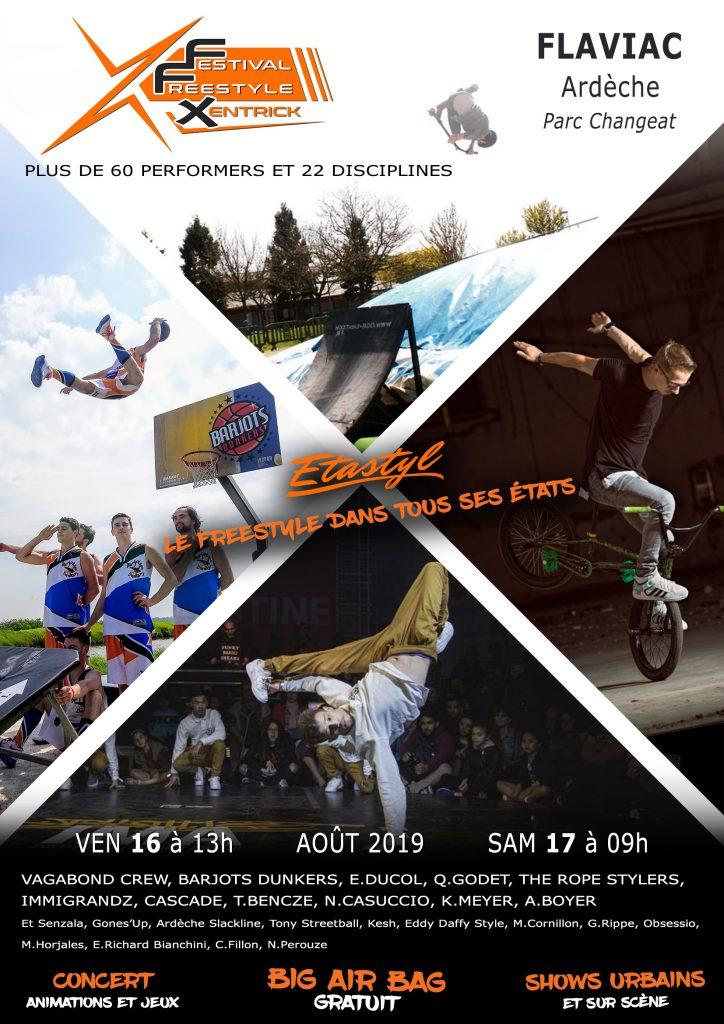 La SAS XENTRICK SPORTS FREESTYLE présente le premier Festival Freestyle Xentrick