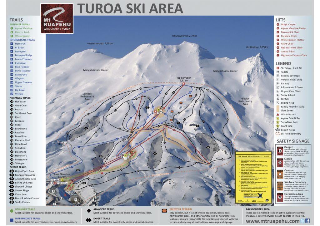 La station de ski de Turoa