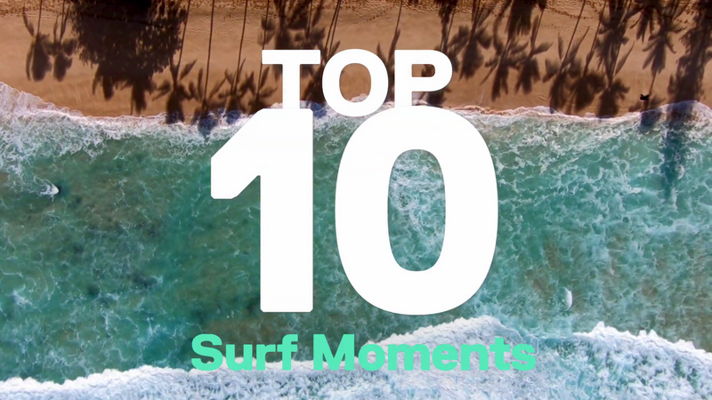 Top 10 du surf en GoPro