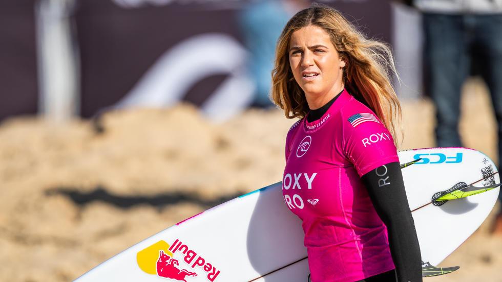 Carolina Marks en demi-finale du Roxy Pro France 2019