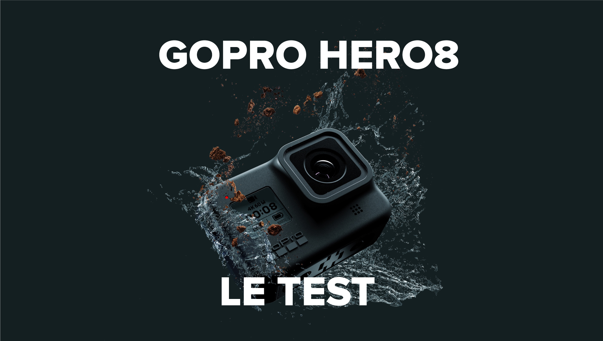 GoPro HERO 8 : le test complet