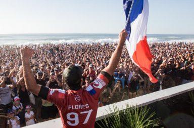 Jérémy Florès remporte le QuikSilver Pro France 2019