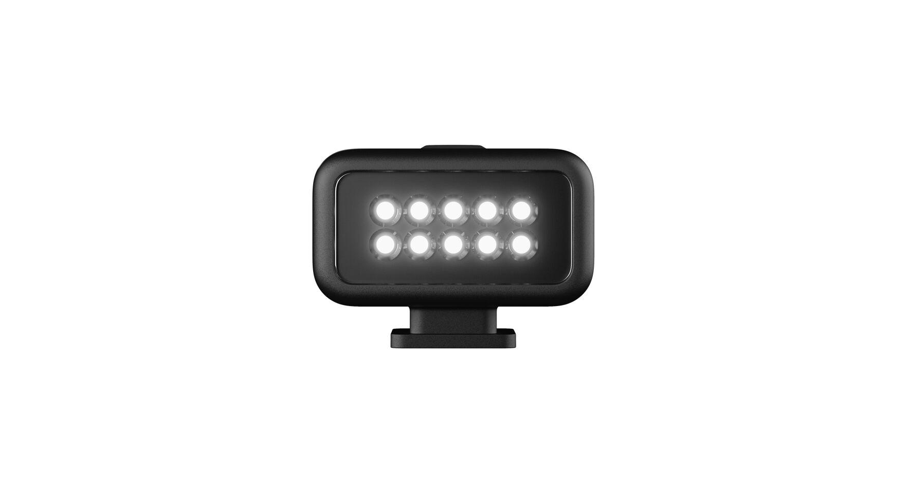 GoPro HERO 8 : le test complet module d'éclairage