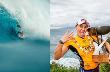 Carissa Moore championne du monde de surf 2019