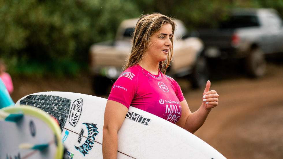 Caroline Marks 2nd championnat du monde surf 2019