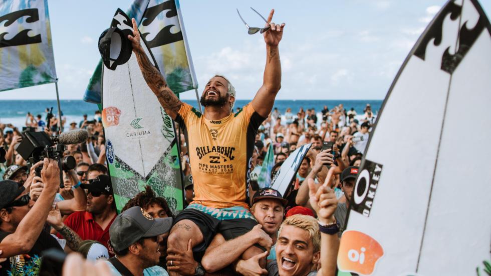 Italo Ferreira champion du monde de surf 2019