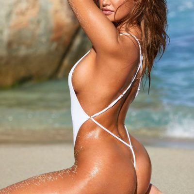 haley kalil si swimsuit-2020 string thong bikini ass nude hot topless