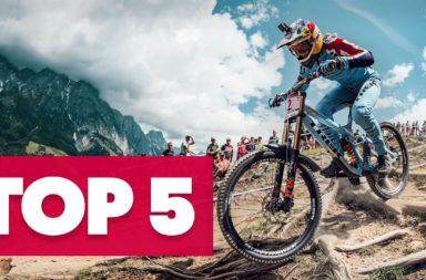 S'agit-il des 5 descentes VTT les plus folles de Leogang, en Autriche?  |  Championnats du monde MTB UCI 2020