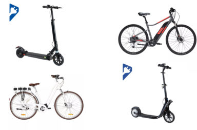 vélos électrique trottinette électrique decathlon