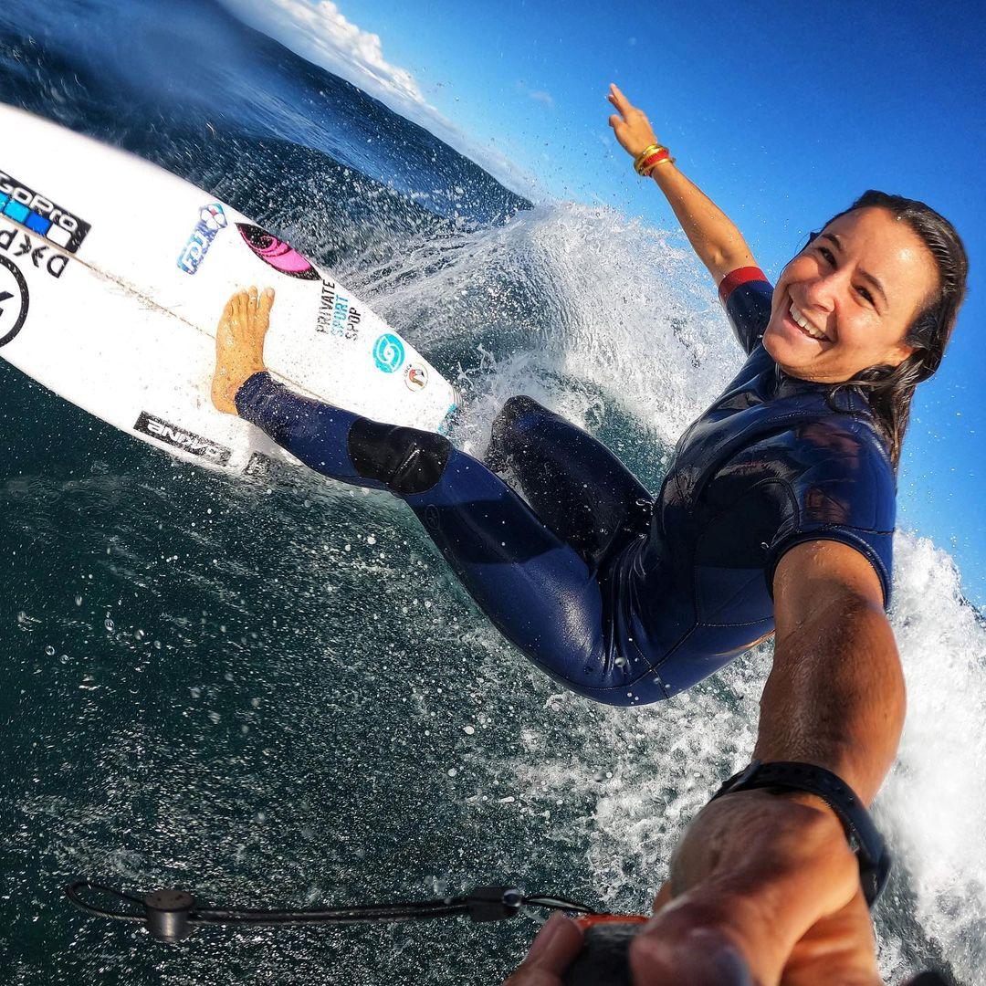johanne defay bikini string thong ass margaret river pro surf 2021 wsl