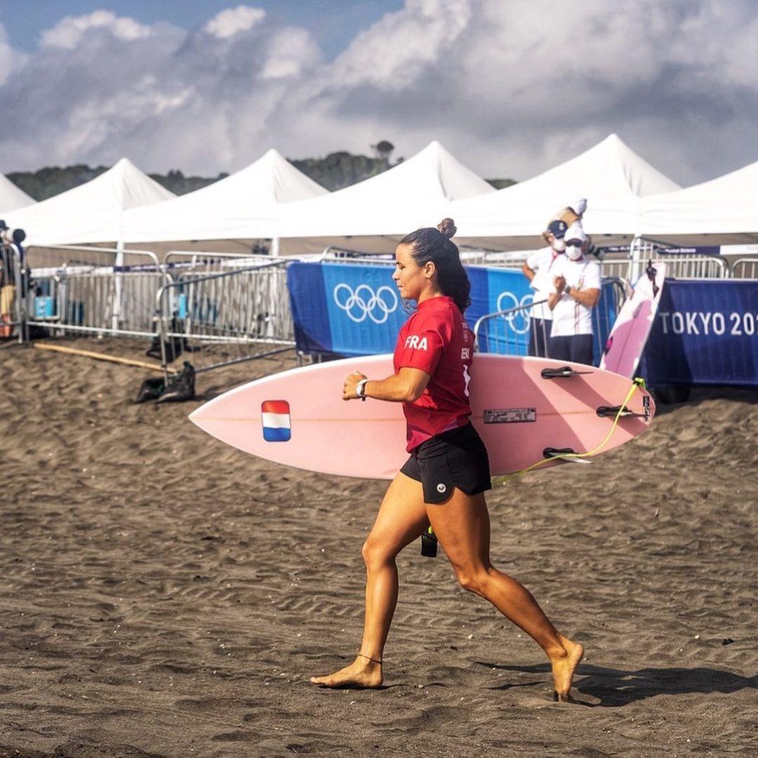 johanne defay surf jeux olympiques tokyo 2020