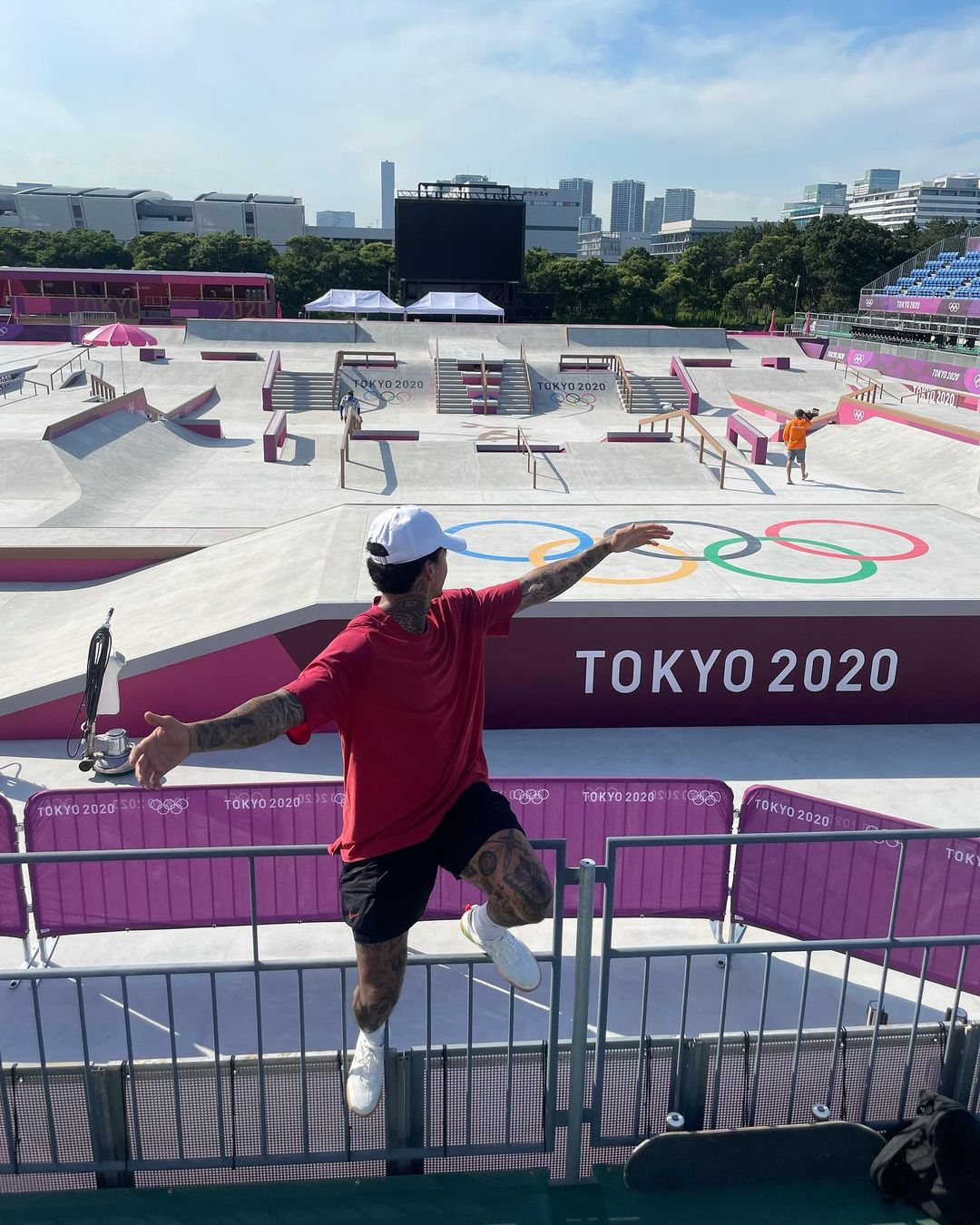 nyjah houston skate jeux olympique de tokyo 2020