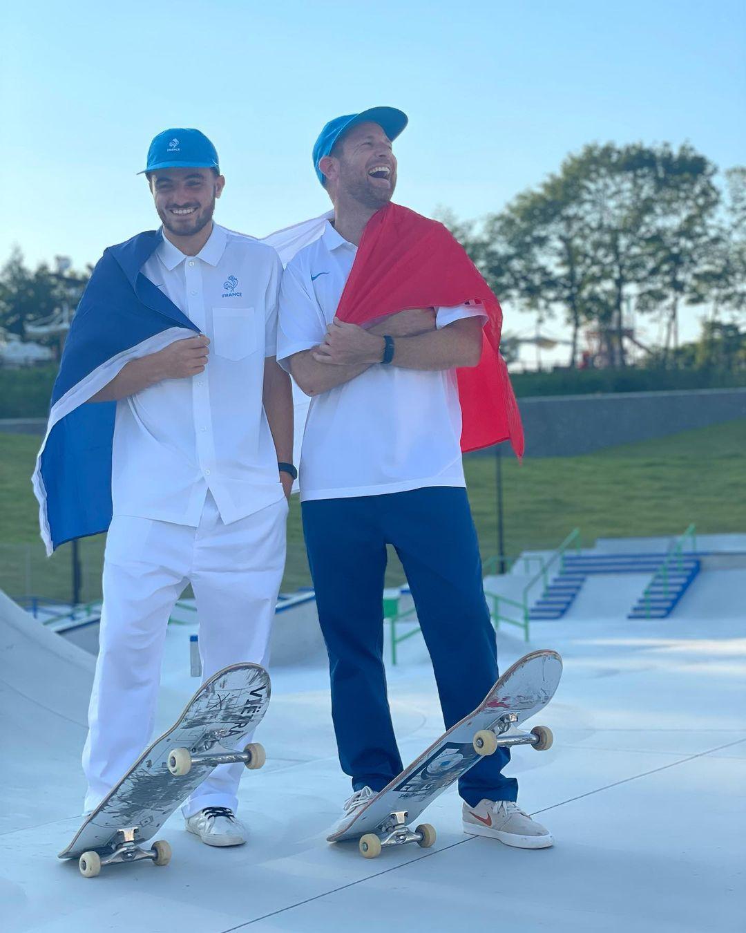 vincent milou skateboard skate jeux olympique tokyo 2020