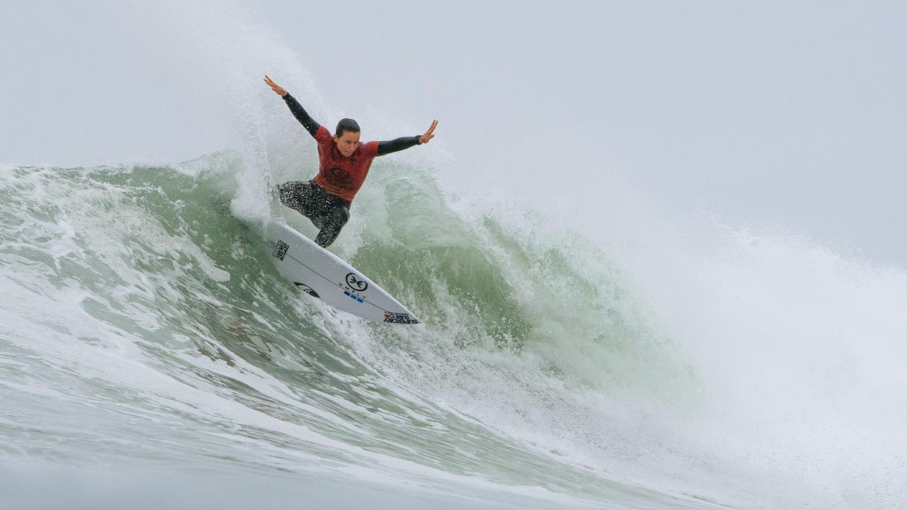 johanne defay surf final 5 wsl lower trestle 2021 californie