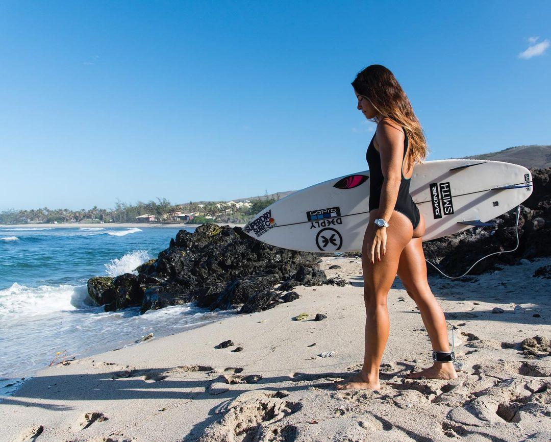 final 5 trestles california wsl surf surfing 2021 rip curl johanne defay string thong bikini ass nude