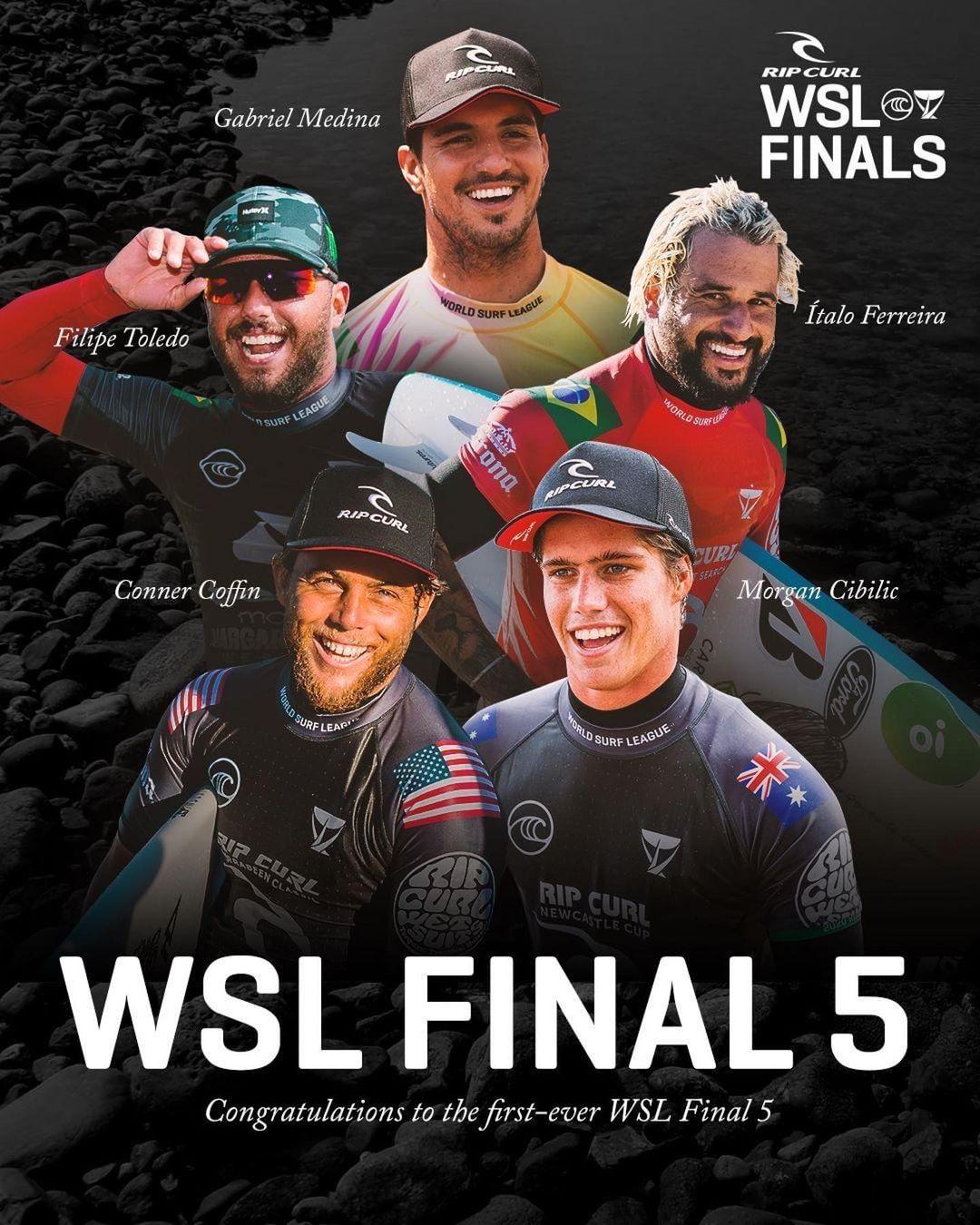 final 5 trestles california wsl surf surfing 2021 rip curl